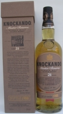 Knockando 21 Years Master Reserve
