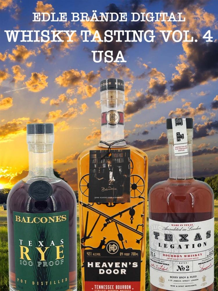 Whiskytasting 4 - USA, 27.05. - 20 Uhr