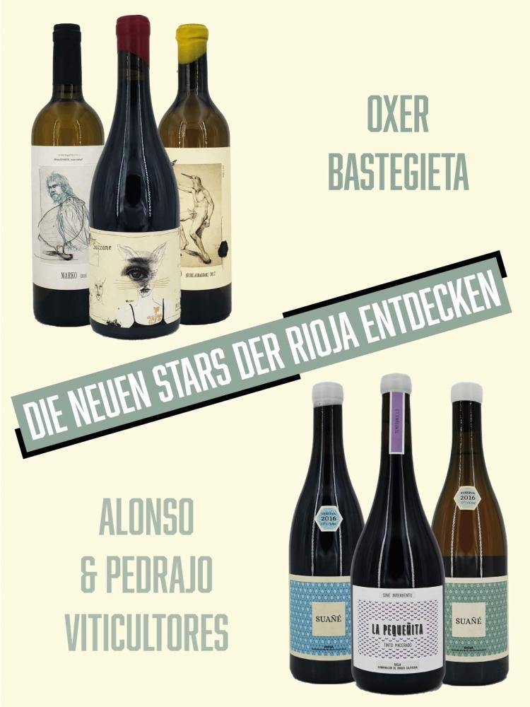Weinpaket - die neuen Stars der Rioja